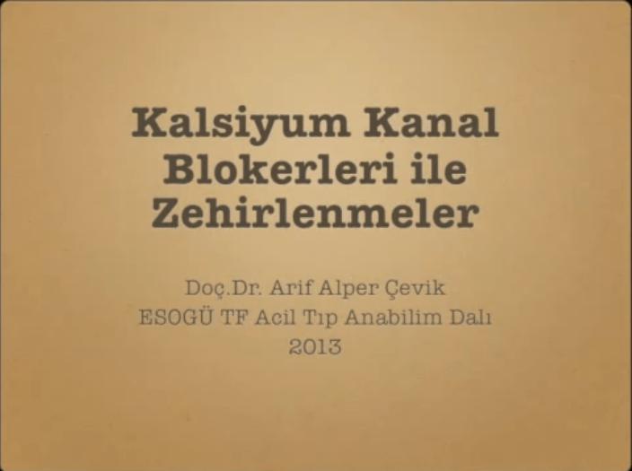 Photo of Kalsiyum Kanal Blokeri Zehirlenmeleri