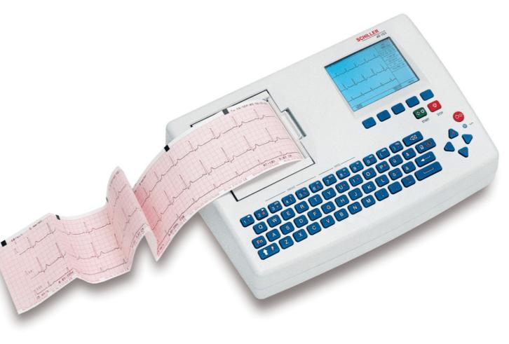 3 kanallı bir EKG cihazı