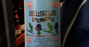 İrlanda'da markette tesadüf gördüğüm Deliryum Tremens içeceği