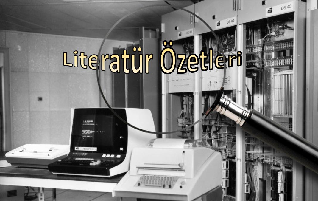 Photo of Literatür Özetleri: Kasım 2018
