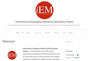 iEM Education Project Website