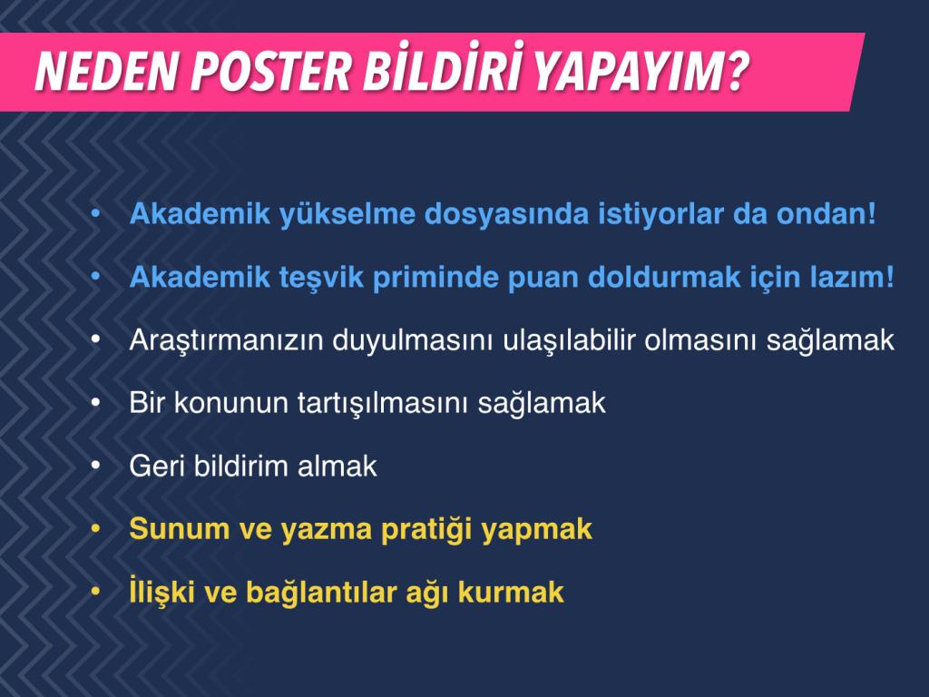 neden poster bildiri